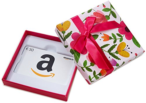 Amazon.de Geschenkgutschein in Geschenkbox - 30 EUR (Blumen)