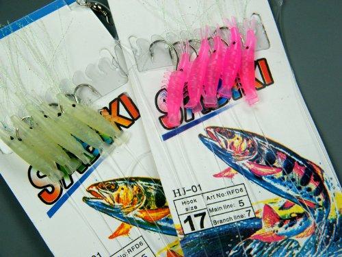 2-paquete1-brillar-1rosa-17-18-camaron-verde-brillar-senuelos-brillante-pesca-sabiki-rigs-mar-pesca