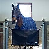netproshop Stallguard, Boxentür, Boxensperre, Tür Stopp für Pferde zur Stallgasse