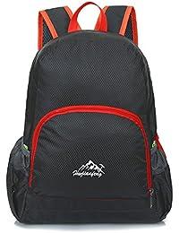 a67aff72dda78 LUCKDE Faltbarer Rucksack Unisex Wanderrucksack Wasserdicht Travel Backpack  Outdoor Schulrucksack Teenager Cityrucksack