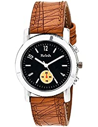Relish RE-L004T Classic Analog Black Dial Watch for Girls, Women