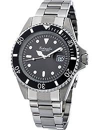 Eichmüller–3411–05–Buceo reloj, acero inoxidable macizo, 20ATM