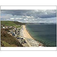 20x16 Print of Beesands, South Devon, England, United Kingdom, Europe (7895509)