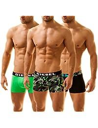 Diesel Men's 3 Pack Boxer Trunks Shawn