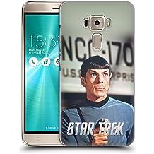 Ufficiale Star Trek Phaser Embossed Spock Cover Retro Rigida per Asus Zenfone 3 ZE520KL