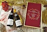 Coffret Cadeau vins Noël'Couronne' (Allemand) + 2 bouteilles de cotes de Beaune Village Bouge et saint Véran Blanc