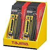 Tajima TAJ-10107 Universalkniv Justerbart Blad, Svart