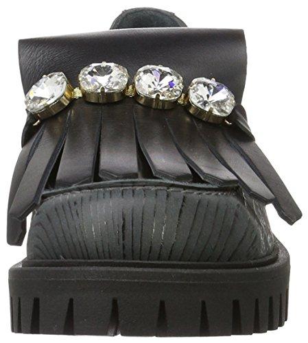 Pollini Pollini Shoes, Mocassin femme Schwarz (Black 00A)