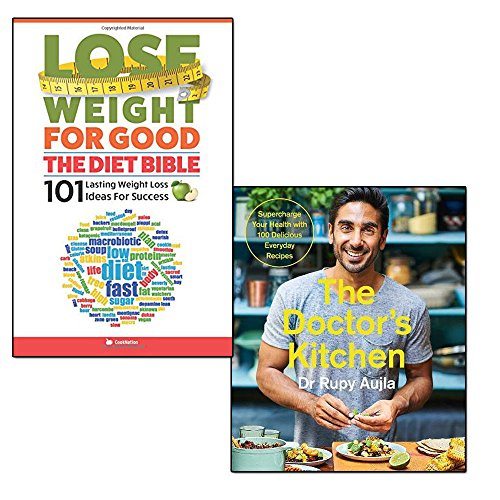 the doctor's kitchen and lose weight for good the diet bible 2 books collection set - supercharge your health with 100 delicious everyday recipes, 101 lasting weight loss ideas for success