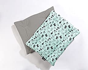 PETIQUE BD07110000 Pet Bed, Teal Kittens, One Size