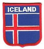 Wappen Aufnäher Patch Island Flagge Fahne NEU