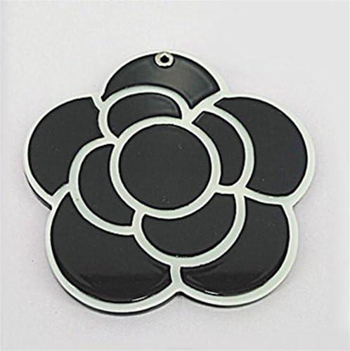 Weekendy Jouet drôle de bébé Mini Fleur Motif Petit Miroir en Verre Cercles pour Artisanat décoration cosmétique Accessoire | Les Produits De Base Sont