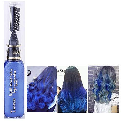 ClifcragrocL Haarfärbemittel, Einweg, Party-Haarfarbe, temporäre ungiftige Farbcreme, Beauty-Werkzeug (Spray Temporäre Haarfarbe)
