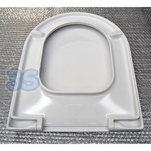 Ceramica dolomite j104900 sedile normale serie clodia for Dolomite serie clodia