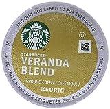 Starbucks Coffee, Veranda Blend Blonde K Cup Portion Pack for Keurig Brewers, 24