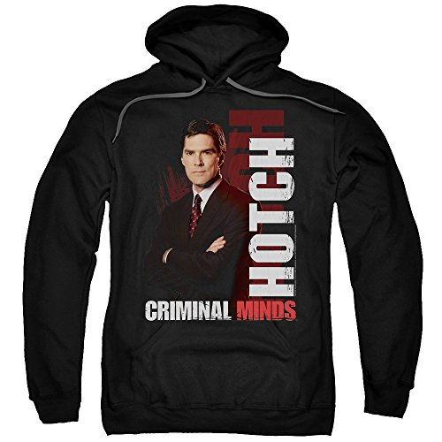2Bhip Criminal Minds TV Show CBS Hotch Adult Pull-Over Hoodie