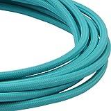 LIVING by colors textil CABLE FLEX CABLE 3 m turquesa