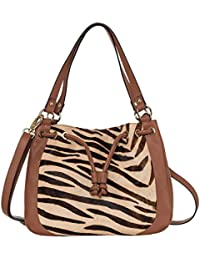 Klasse Women Animal Print Genuine Leather Sling Bag