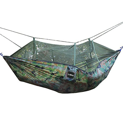 skcq leicht tragbar Moskitonetz Hängematte Extra robuste Ripstop-Nylon Camping Hängematte, ideal für Reisen oder Strand oder Yard