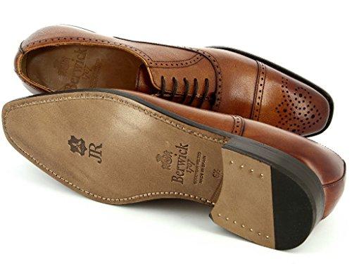Berwick  4206 206 Sicalf, Chaussures de ville à lacets pour homme Marron