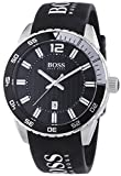 Hugo Boss Herren-Armbanduhr XL Analog Quarz Silikon 1512888