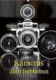 Kameras zum liebhaben (Wandkalender 2019 DIN A2 hoch): Klassische Fotoapparate der 20er bis 70er Jahre. (Monatskalender, 14 Seiten ) (CALVENDO Hobbys)