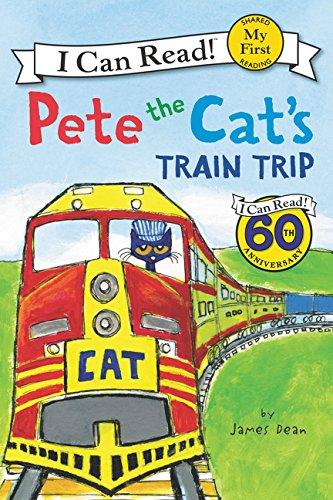 Pete the Cat's Train Trip (I Can Read) por James Dean