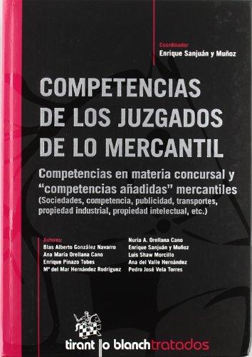 Competencias de los Juzgados de lo Mercantil
