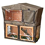 Charles Bentley Guinea Pig & Rabbit Hutch Cover - Pet/Hutch.03 Cage with Ventilation Holes - Fully Assembled