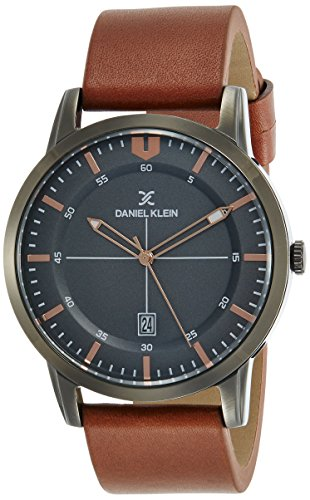 Daniel Klein Premium-Gents Analog Grey Dial Men's Watch - DK11732-3