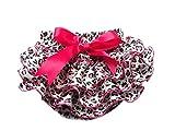 DELEY muchachas del niño de la impresión del leopardo de la colmena Bloomers bragas pañal Cubiertas rosa M