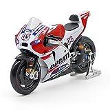 QAQW 1:18 Ducati Ducati 04 GP Simulation Alliage Moto Modèle Voiture Modèle