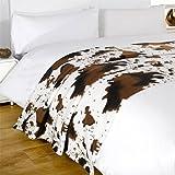 Dreamscene Animal Fleece Blanket, Pony, 120 x 150 Cm