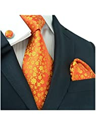landisun Floral Pattern - Set De Cravates - Homme