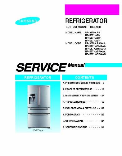 Samsung Rf4287hars  Xaa Service Manual
