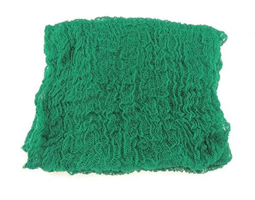 100 cm lange, weite Weave Baby Jungen und Mädchen, 100% Baumwolle, Cheesecloth, Foto Requisite Gr. Einheitsgröße, Grün - Jadegrün