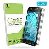 MORNTTE Panzerglas Schutzfolie für iPhone 7 Plus und iPhone 8 Plus [5.5 Zoll][2 Stück][HD Displayschutzfolie][9H Härte][Anti-Öl][Anti-Kratzen][Anti-Bläschen] Screen Protector Glas