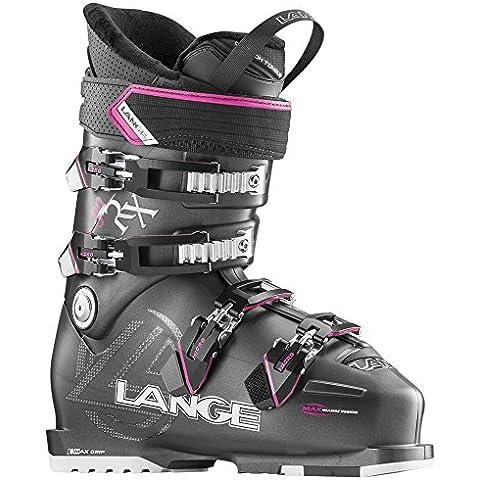 Lange RX 90 W - Botas de esquí para mujer, color gris / magenta, talla 25