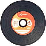 Xlayer Vinyl-Look CD-R 700MB/80Min 52x, 100er-Spindel
