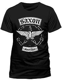Saxon sacrifice bannière t-shirt pour homme