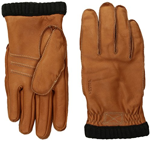 Hestra Handschuhe/Lederhandschuhe Deerskin Prima Ribbed haselnuß (162) 9