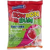 Bon Bon Bum Bubble Gum Bolsa Surtido - Paquete de 24 Unidades