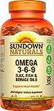 Triple Omega 3-6-9, 200 Softgels from Rexall Sundown Naturals