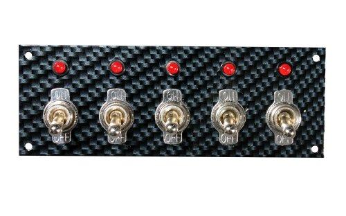 Preisvergleich Produktbild Sitzen 74143grau/schwarz Faser Design Schalter Panel