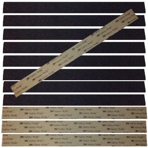 3M REF 610 Anti Rutsch Slip Klebeband Tape 12 Streifen je 25,4mm x 25cm