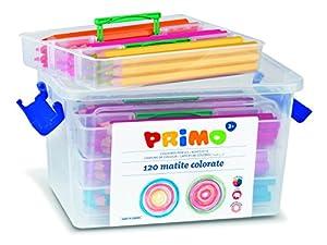 PRIMO P511MAXI120 Jumbo - Lápices de Colores (120 Unidades)