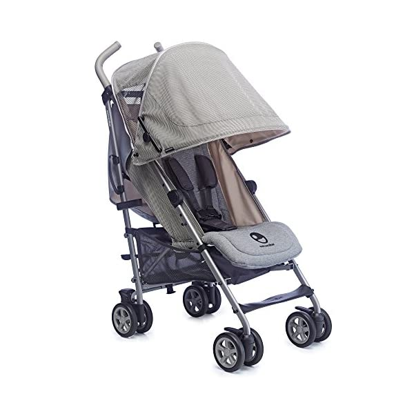 Easywalker Buggy Milano Melange  Suitable from birth 5 point 3 position harness Four recline positions with near flat recline 2