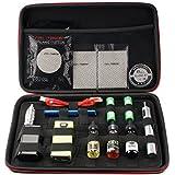 HAMSWAN Coil Master Kbag Authentique Sacoche de Transport Sac portable pour Vapoteuse et Kit Huiles Essentielles de E-Cigarette