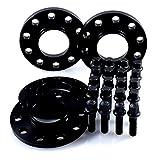 TuningHeads/H&R .0477625.DK.B2055668-B3055668 Spurverbreiterung Blackline, VA 20 mm/HA 30 mm + Radschrauben