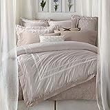 Bettwäsche-Sets 46-Teiliges Set aus europäischen und Amerikanischen Satin Baumwolle Frühlings- und sommermonaten 1.5 1.8m Bett Pure bettbezug-D 220x240cm(87x94inch)